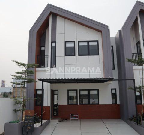 Rumah Cantik 2 Lantai Dekat St Parung Panjang
